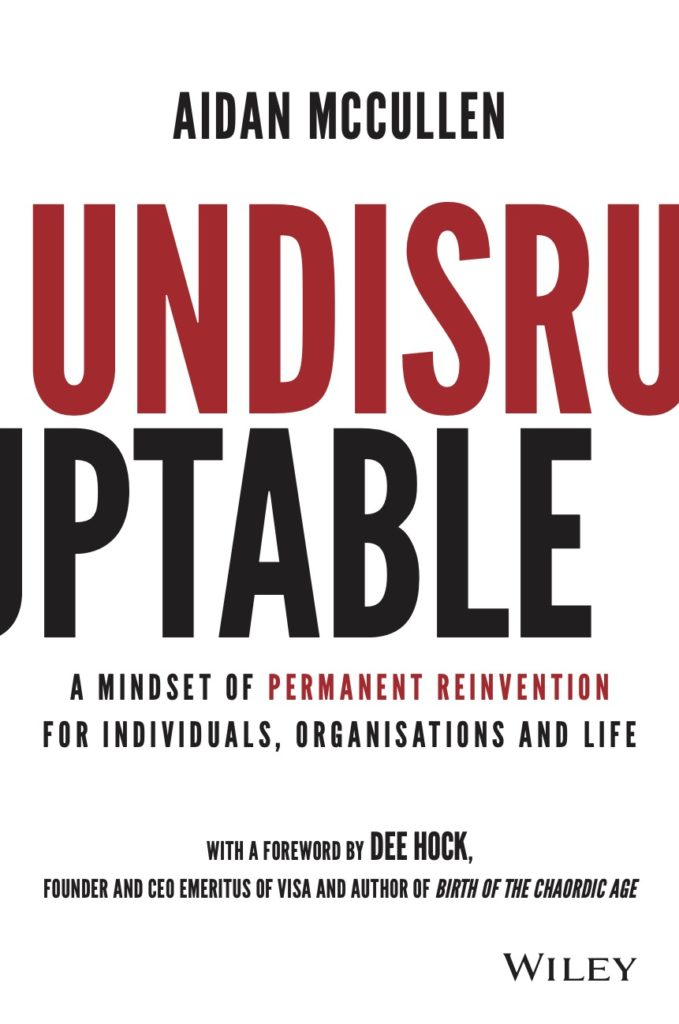 Undisruptable by Aidan McCullen
