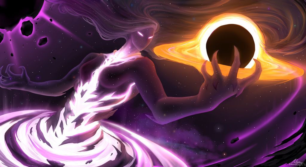 Image of Entity holding light