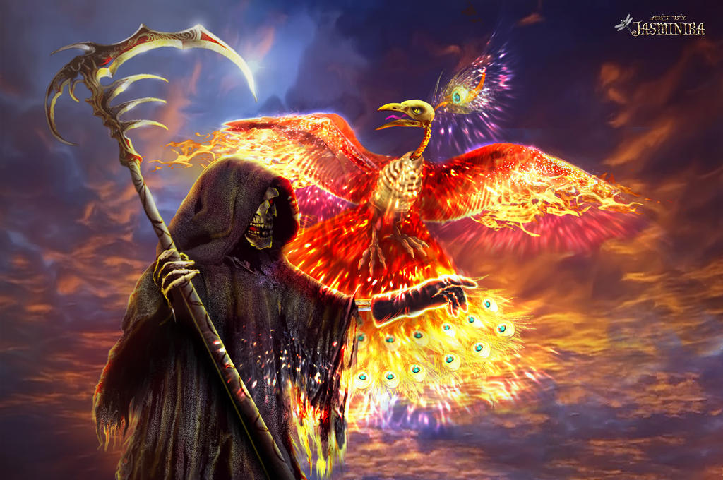 Image of Death and Phoenix