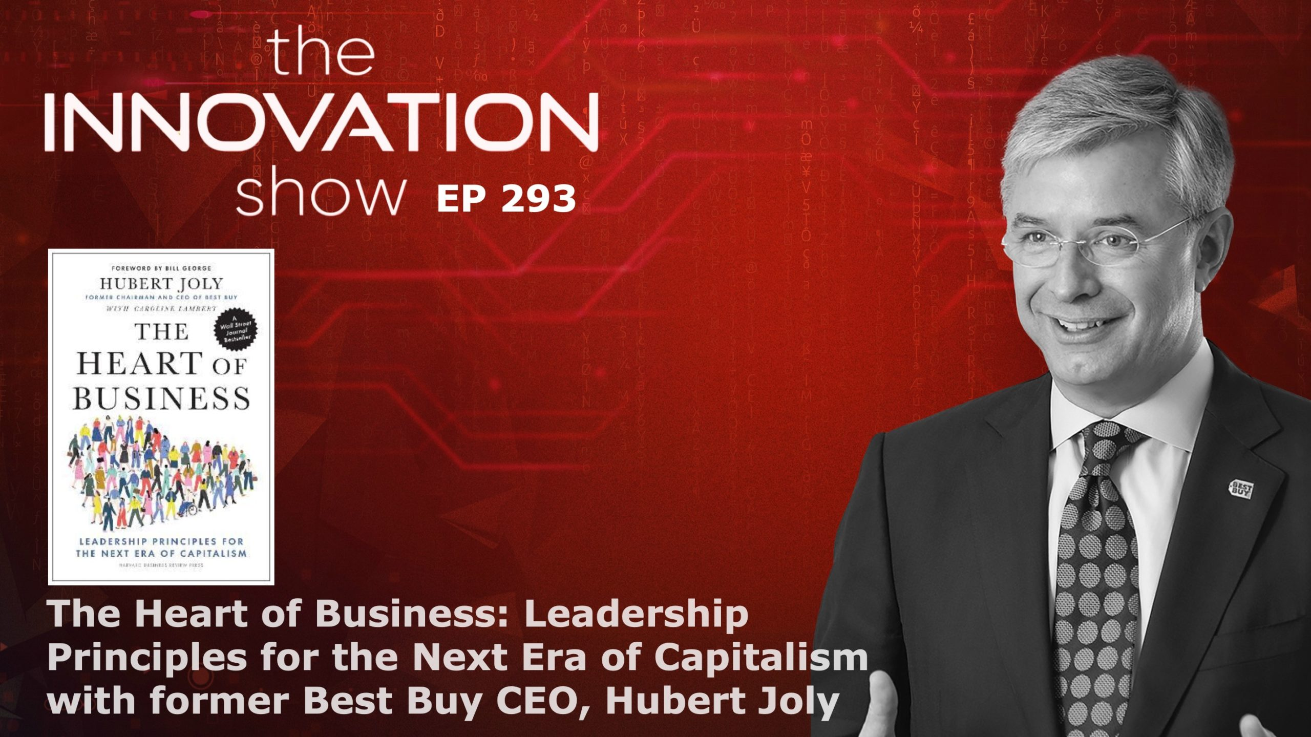 Image of Hubert Joly on the Innovation Show